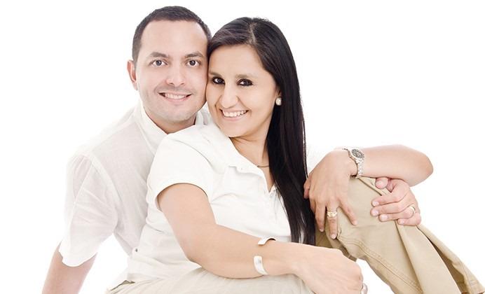 Esposos Orellana- Ex alumna  Guadalupana
